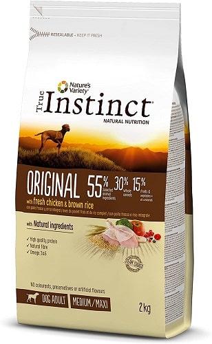 Pienso para perros True Instinct Original Medium Maxi