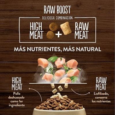 True Instinct Raw Boost para perros deliciosa combinación