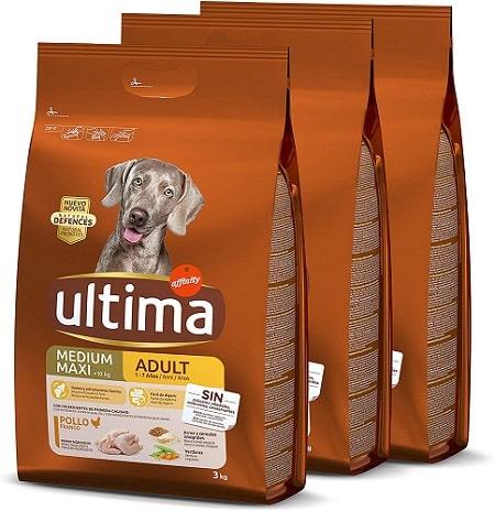 Pienso para perros Ultima Medium Maxi Adult