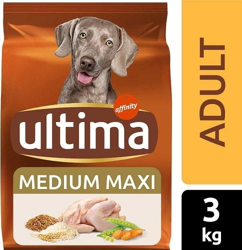 Alimento seco para perros Ultima Medium Maxi Adult