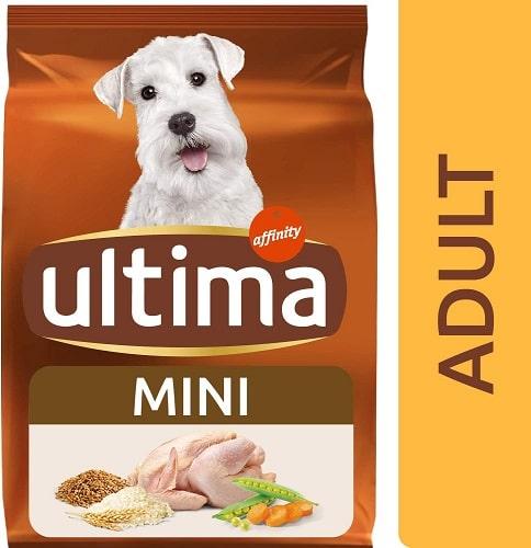 Alimento seco para perros Ultima Mini Adult
