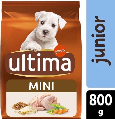 Alimento seco para perros Ultima Mini Junior