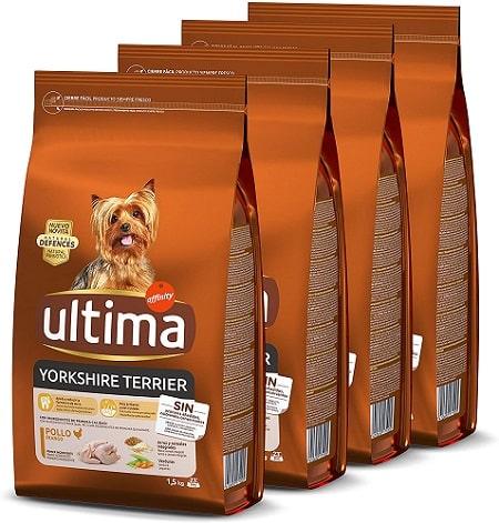 Pienso para perros Ultima Yorkshire Terrier