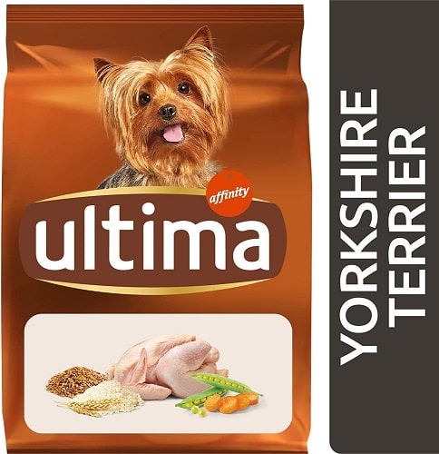 Alimento seco para perros Ultima Yorkshire Terrier