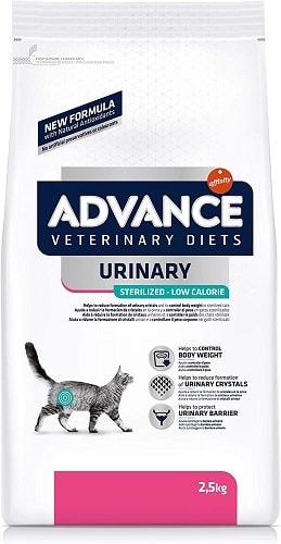 Pienso para gatos Advance Veterinary Diets Urinary Sterilized Low Calorie