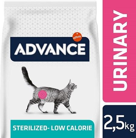 Alimento seco para gatos Advance Veterinary Diets Urinary Sterilized Low Calorie