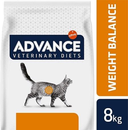 Alimento seco para gatos Advance Veterinary Diets Weight Balance