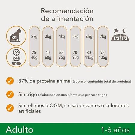 Recomendación de alimentación IAMS Gato Adulto