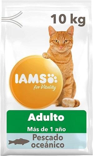 Pienso para gatos IAMS Adulto con pescado oceánico