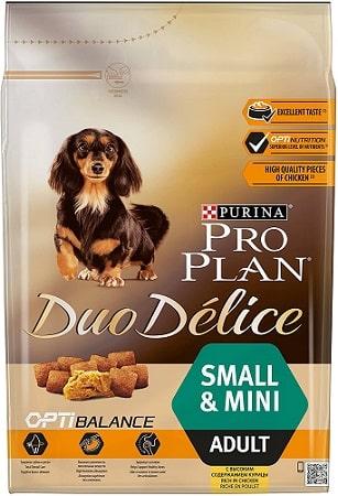 Alimento seco para perros Purina Pro Plan Duo Delice Opti Balance Small Mini Adult