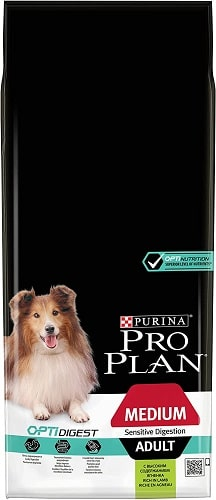 Pienso para perros Purina Pro Plan OptiDigest Medium Sensitive Skin Adult