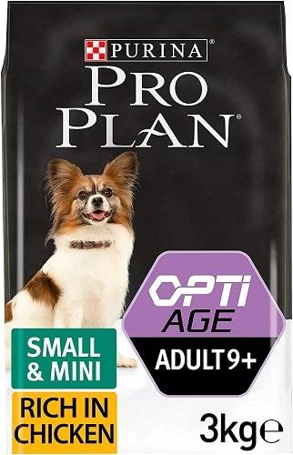 Pienso para perros Purina Pro Plan Opti Age Senior Small Mini con pollo