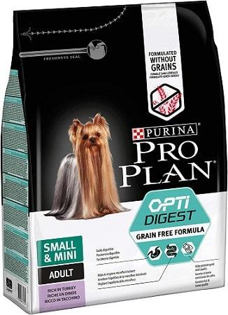 Pienso para perros Purina Pro Plan Small Mini Adult Opti Digest Grain Free Formula