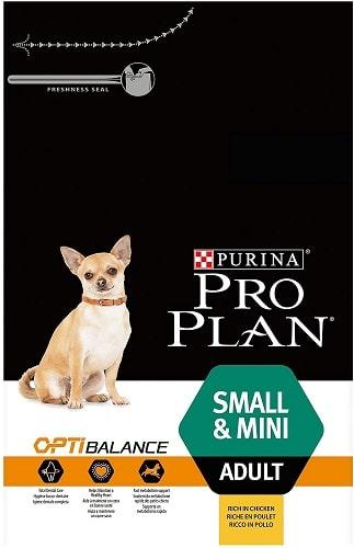 Alimento seco para perros Purina Pro Plan OptiBalance Small Mini Adult