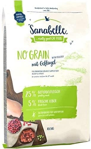 Pienso para gatos Sanabelle No Grain con aves de corral frescas