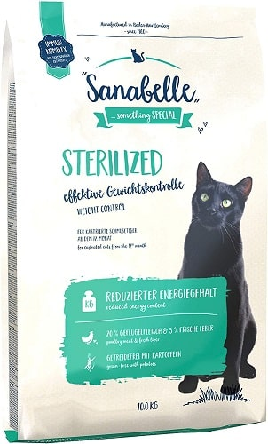 Pienso para gatos Sanabelle Sterilized