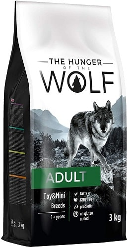 Pienso para perros The Hunger Of The Wolf Adult Toy Mini