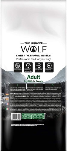 Comida seca para perros The Hunger Of The Wolf Adult Toy Mini