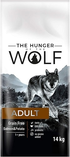 Alimento seco para perros The Hunger Of The Wolf Adult Grain Free
