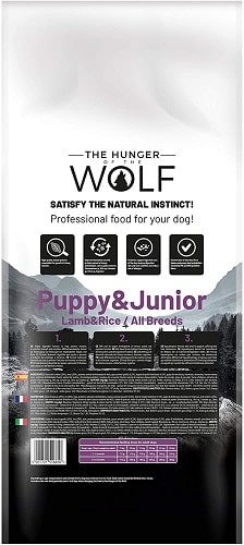 Comida seca para perros The Hunger Of The Wolf Puppy Junior con cordero