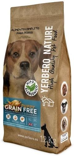 Pienso para perros Yerbero Nature Puppy Grain Free
